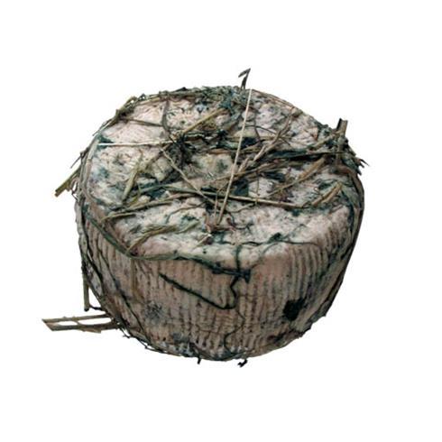 Formaggio pecorino affinato in fieno