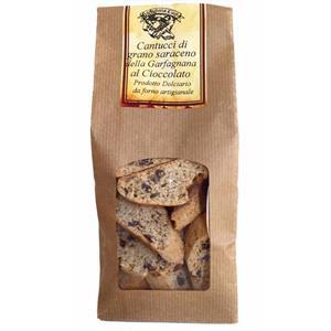 Cantucci di grano saraceno della Garfagnana al Cioccolato