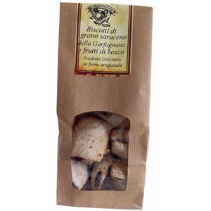Biscotti di grano saraceno e frutti di bosco