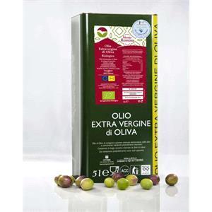 Olio biologico - confezione da 5 litri
