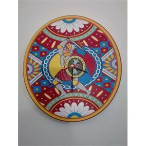 Orologio con decoro siciliano