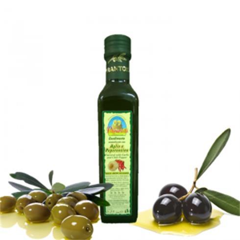 Condimento Aromatizzato AllAglio E Peperoncino - 0,25Lt