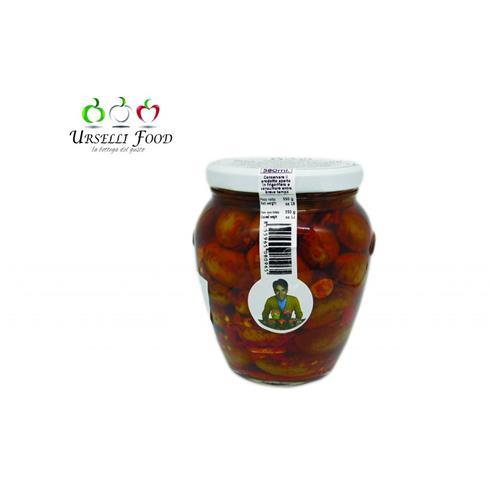 Olive Schiacciate Piccanti 550g