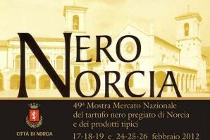 Mostra Mercato del tartufo Nero Pregiato di Norcia 2012