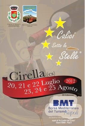 Calici sotto le stelle 2012 a Cirella