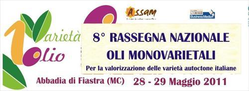 8° Rassegna Nazionale oli monovarietali 2011