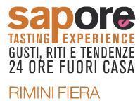 Sapore tasting experience 2012