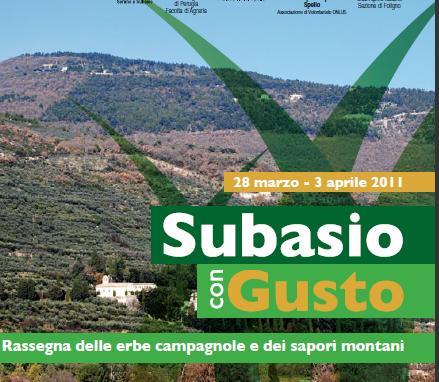 Subasio con gusto 2011