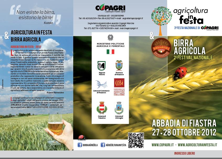 Festival della Birra agricola 2012
