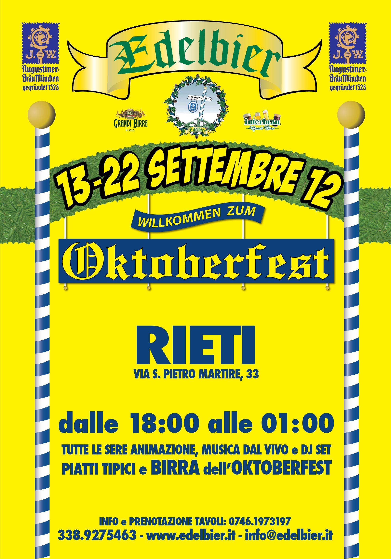 Oktoberfest Rieti 2012