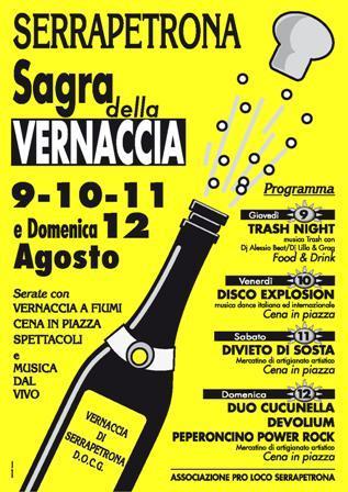 Sagra della Vernaccia Serrapetrona 2012