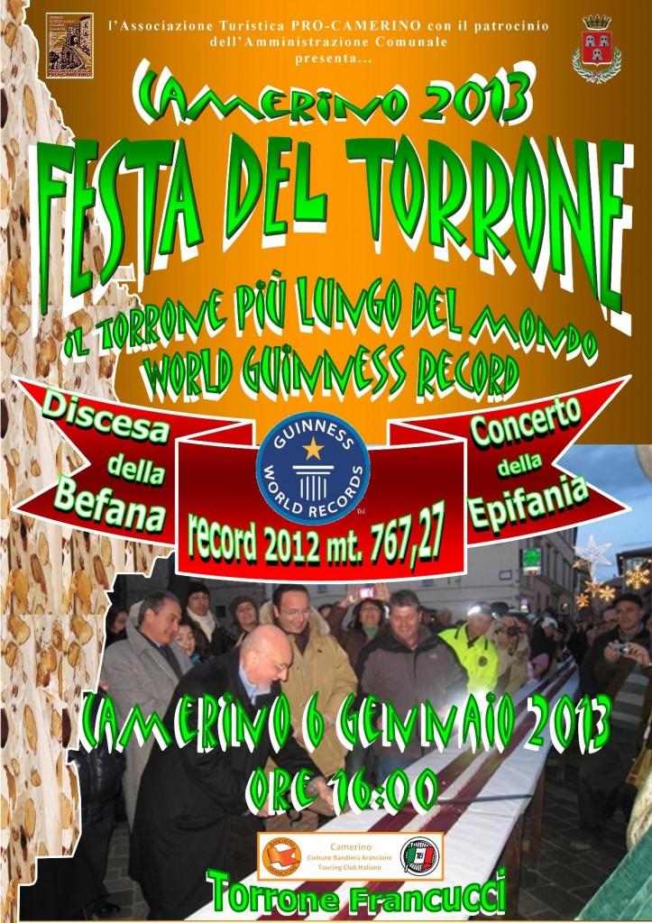 Camerino Festa del Torrone 2013