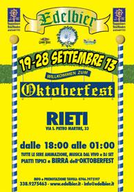 Oktoberfest Rieti 2013