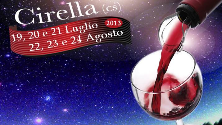 Calici sotto le stelle 2013 a Cirella