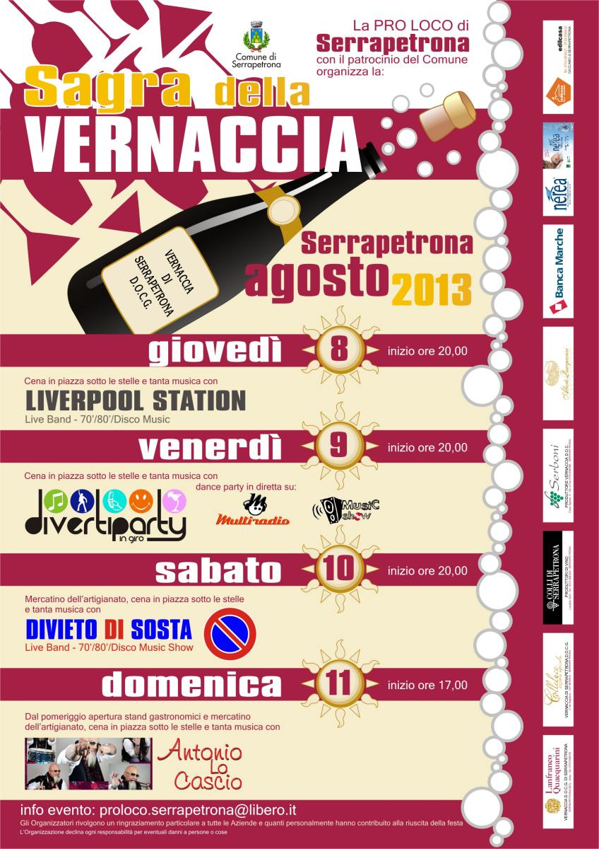 Sagra della Vernaccia Serrapetrona 2013