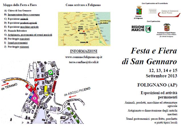 Festa e Fiera di San Gennaro 2013