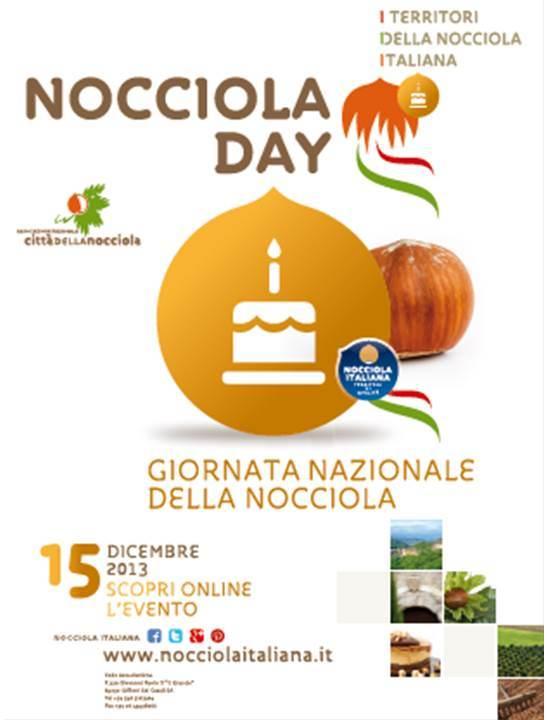 """15 Dicembre 2013: """"nocciola day"""""""