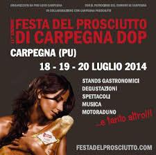 Festa del prosciutto di Carpegna Dop 2014