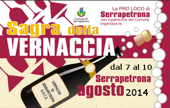 Sagra della Vernaccia Serrapetrona 2014