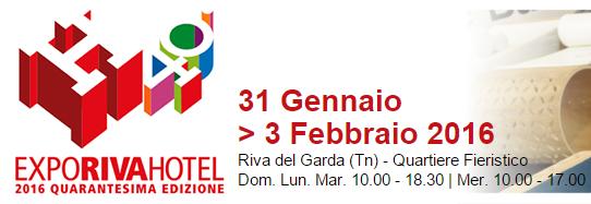 Expo Riva hotel 2016