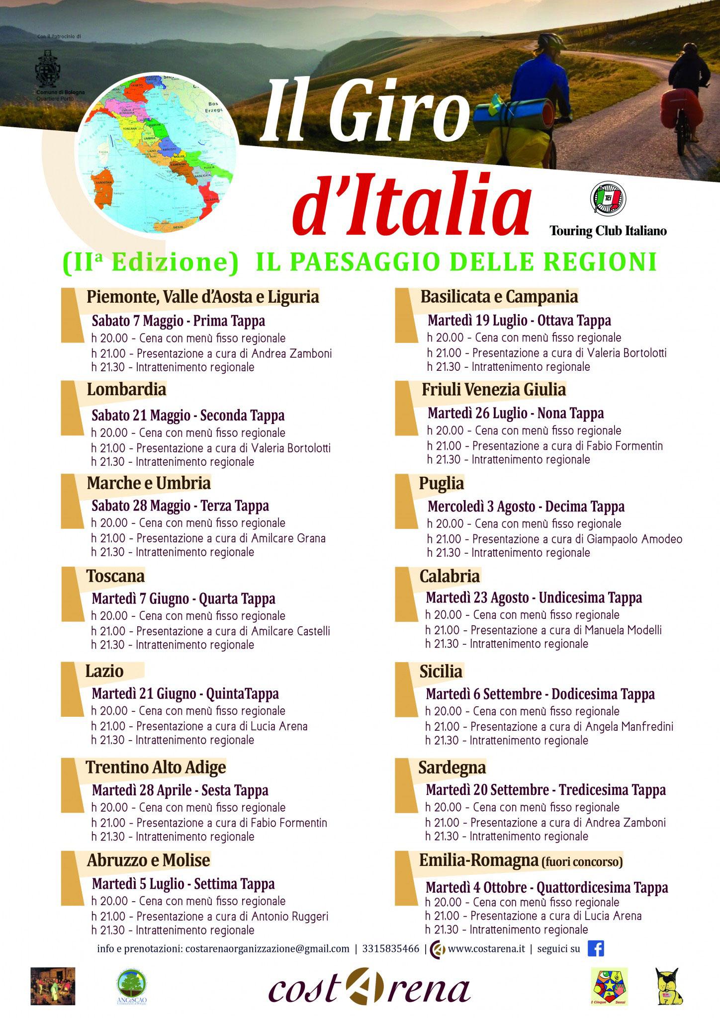 Il giro d'Italia  21 maggio 2016